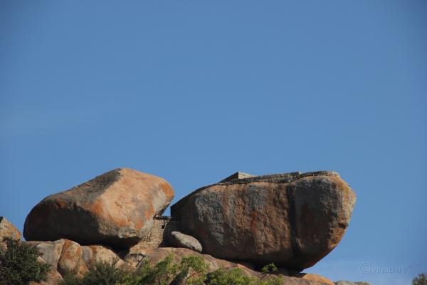 Ship-Shaped Rock at Chitradurga Fort