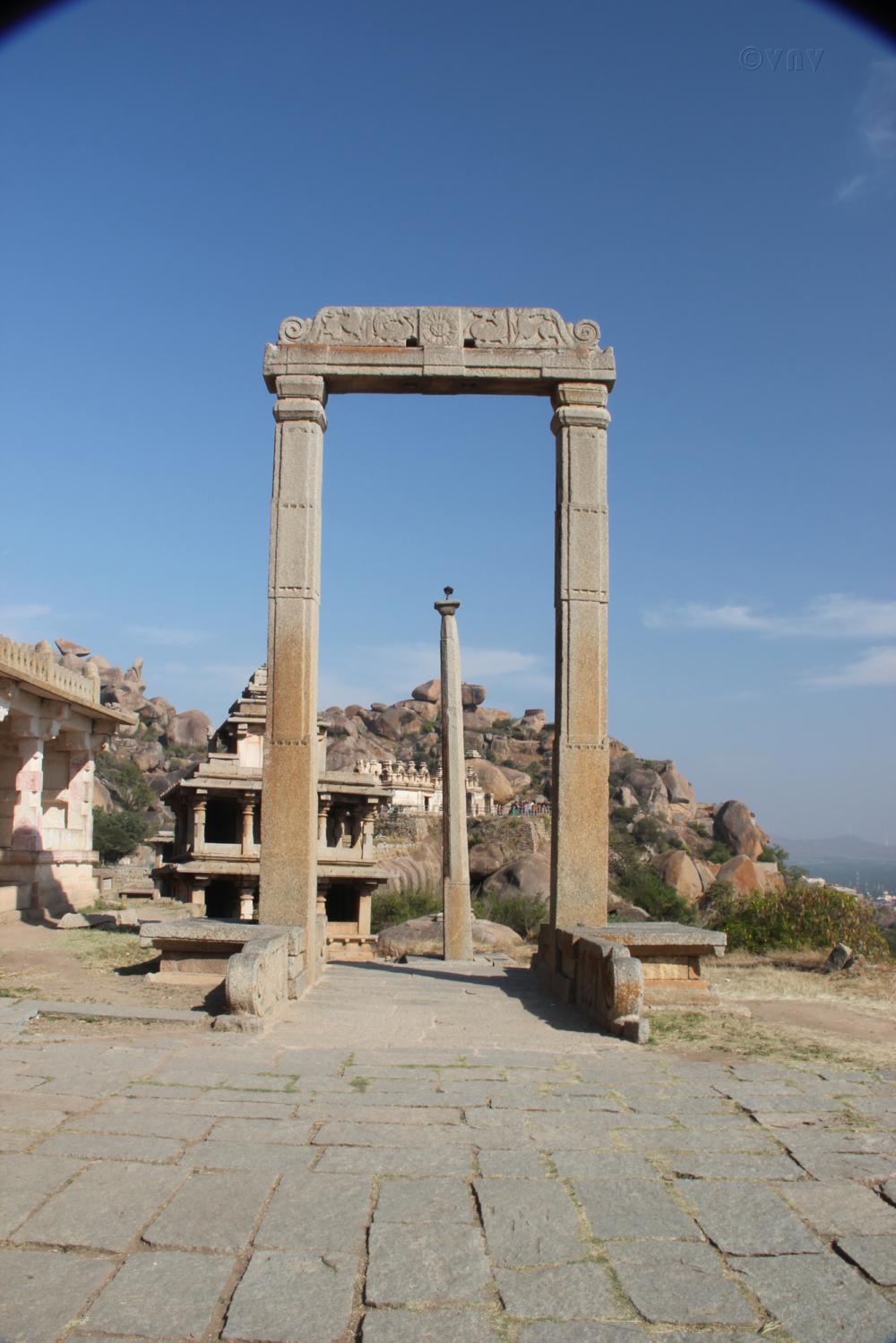 The Pillars at Chitradurga Fort