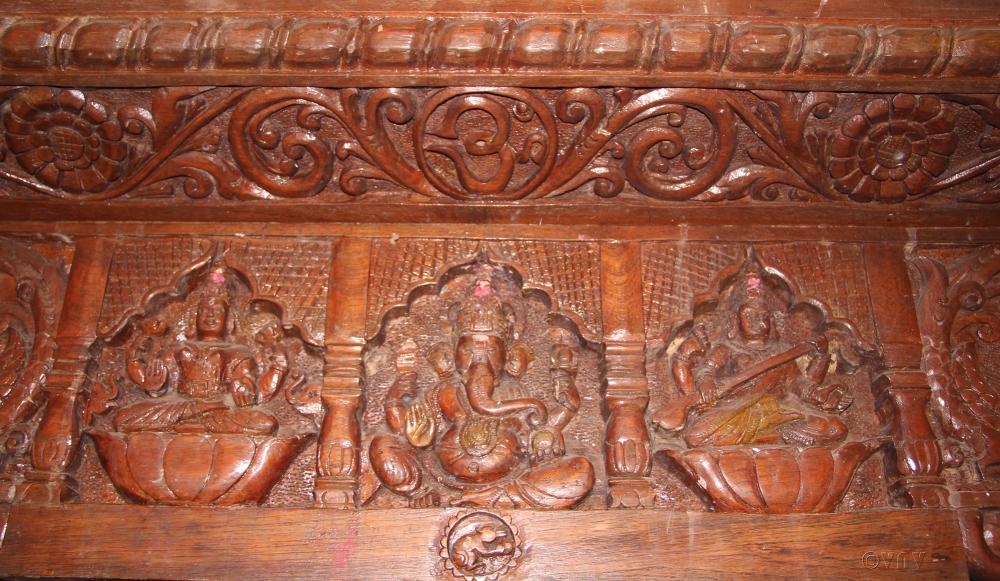 Lakshmi, Ganapathi and Saraswathi...