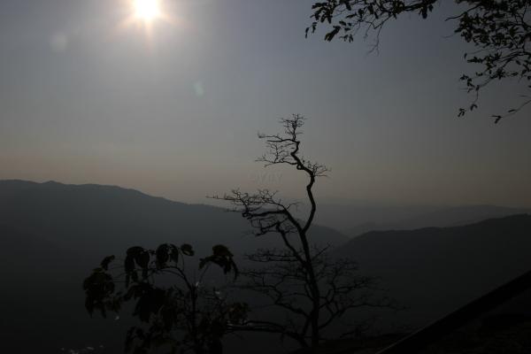 Jenukallu Gudda Sunset
