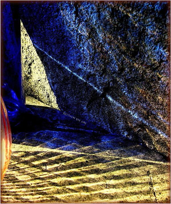 Triangles of light ...