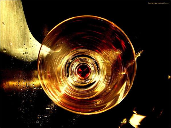 Red wine ...
