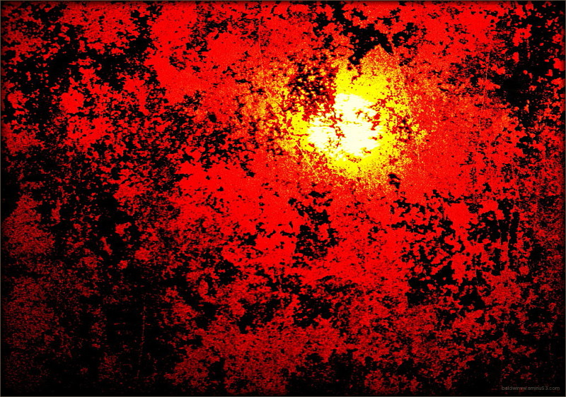 Red sunset ...