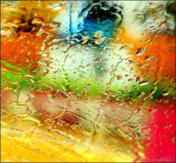 Colorful rain ...