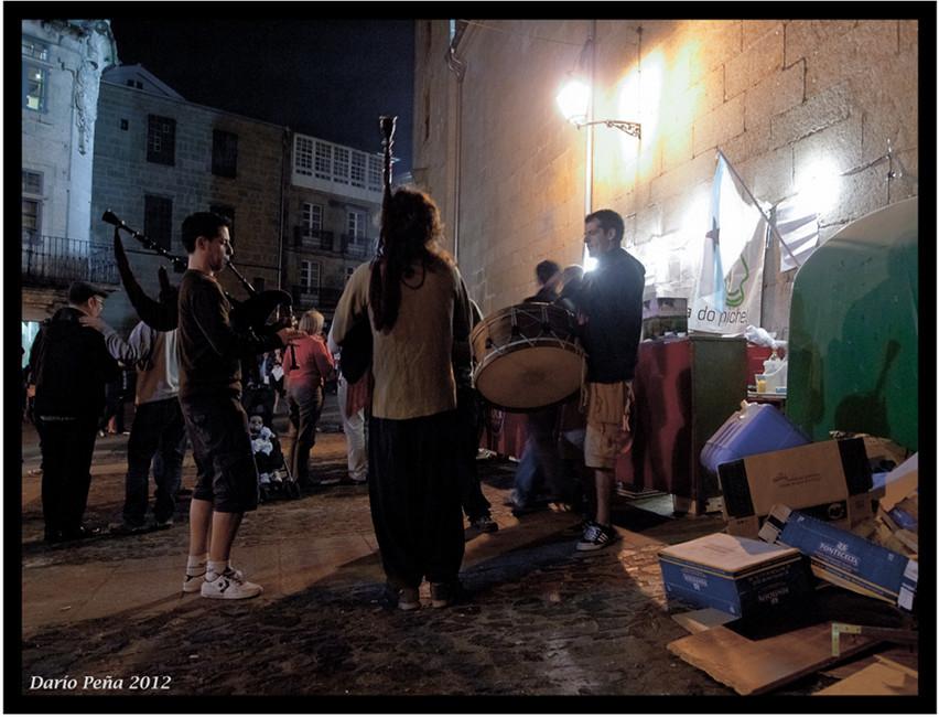 Noite de san xoan Rua das casas reais, compostela.