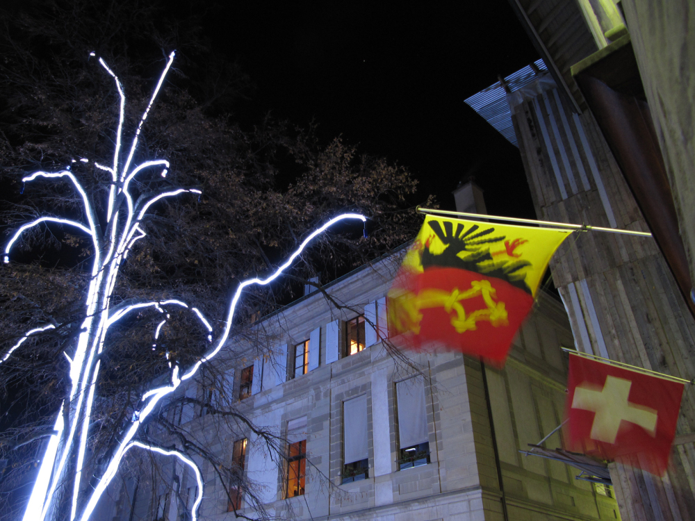A night walk in Geneva... 12/18