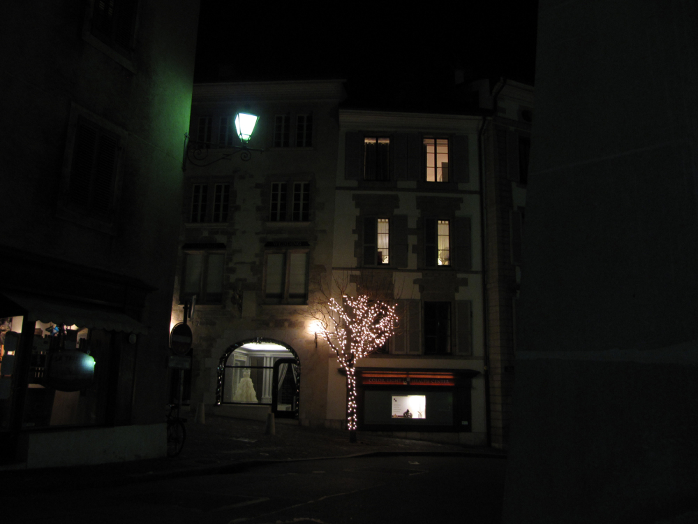 A night walk in Geneva... 18/18