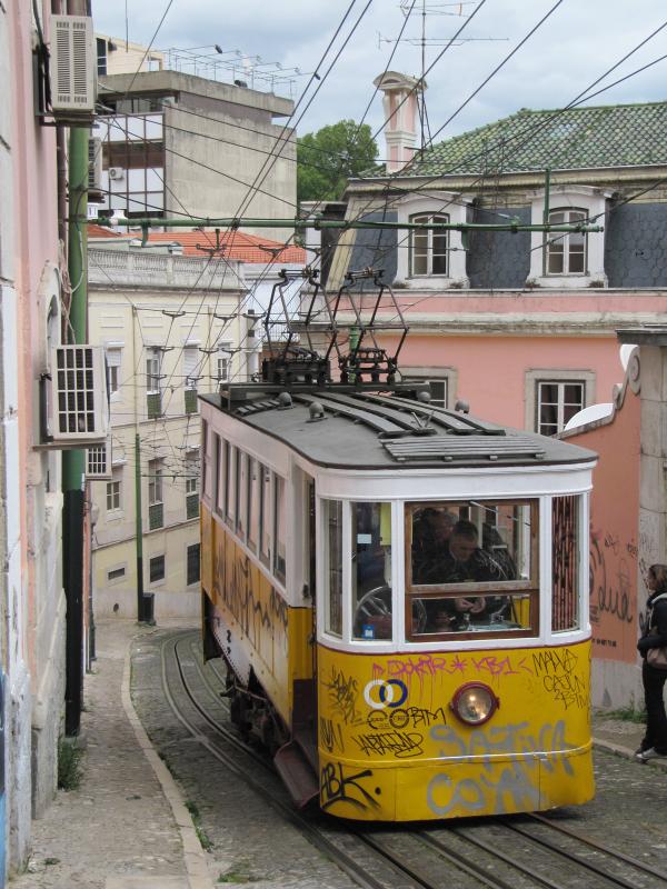 Old rack tram
