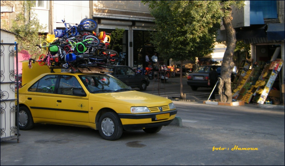pickup or taxi