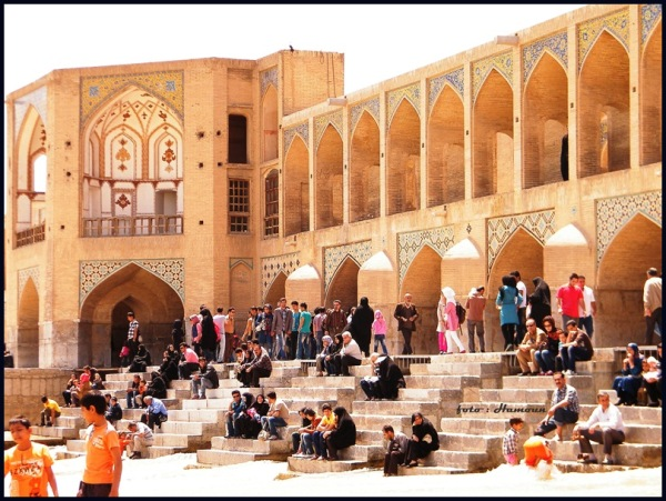 Khaju Bridge Esfahan Iran