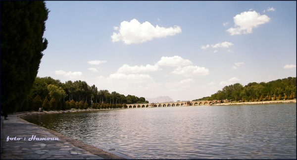 choobi or djooyee Bridge Esfahan Iran