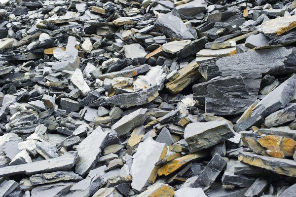 Halde im Steinbruch