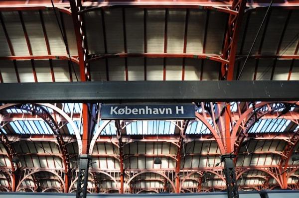 Bahnhof Kopenhagen