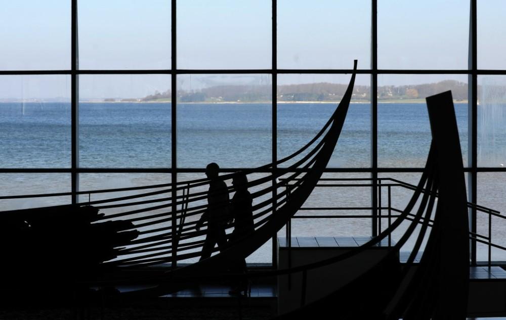 Wrack im Schiffsmuseum der Wikinger in Roskilde
