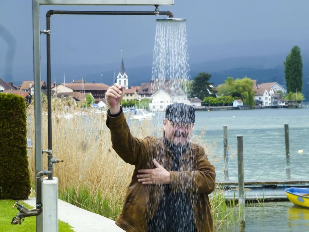 Dusche am See