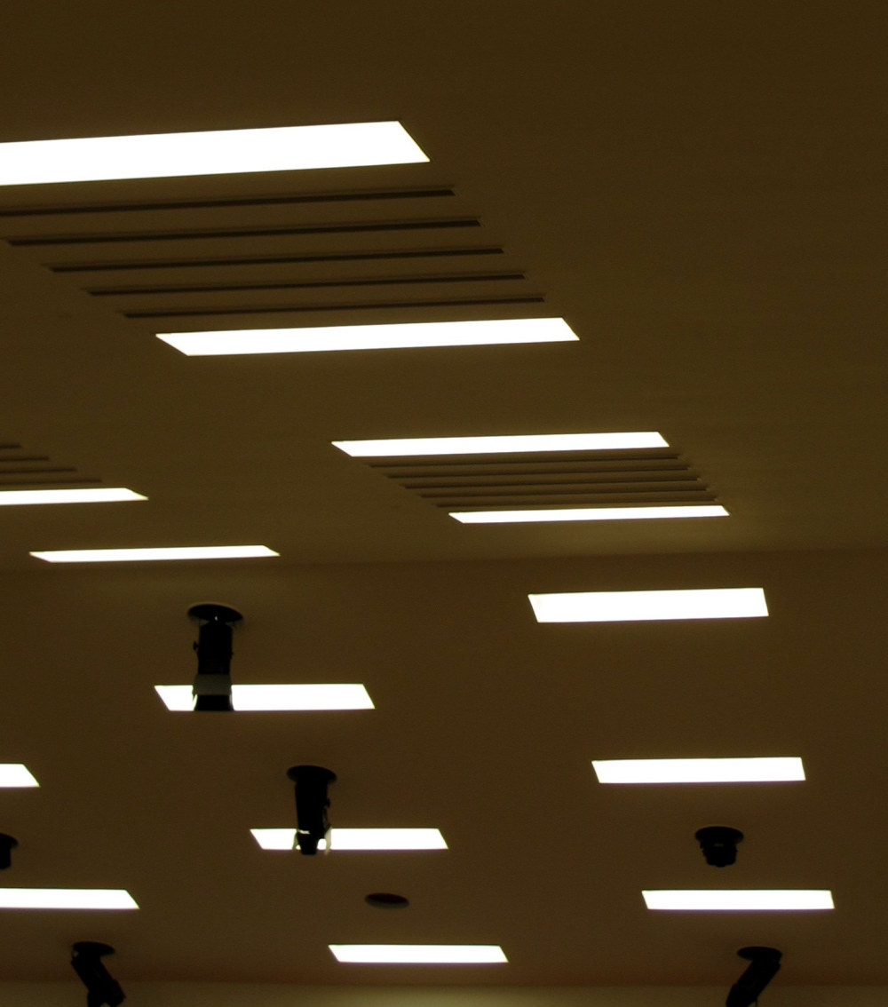 The lines and the lights