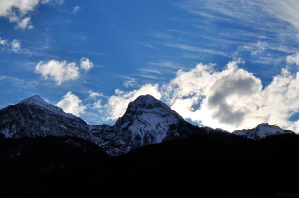 Les montagnes du Caucase