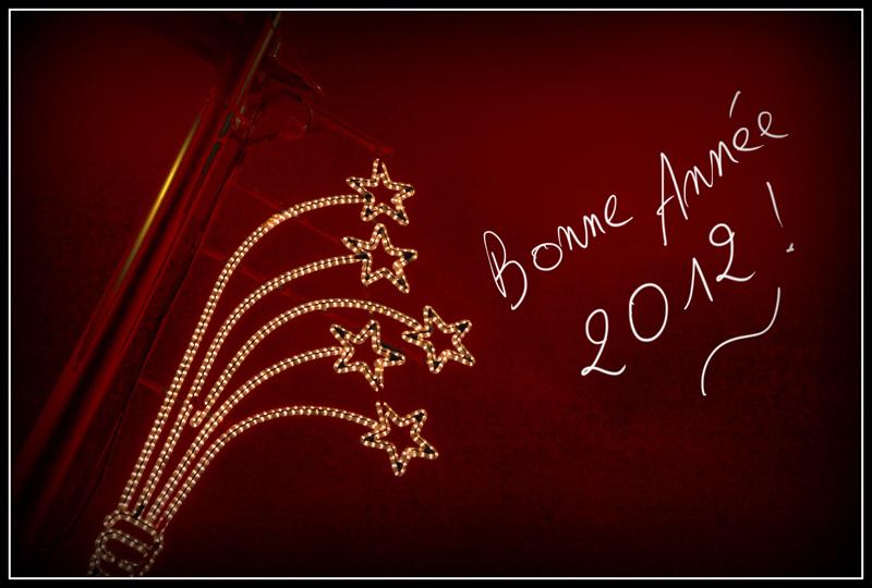 Meilleurs voeux photographiques pour 2012!!!