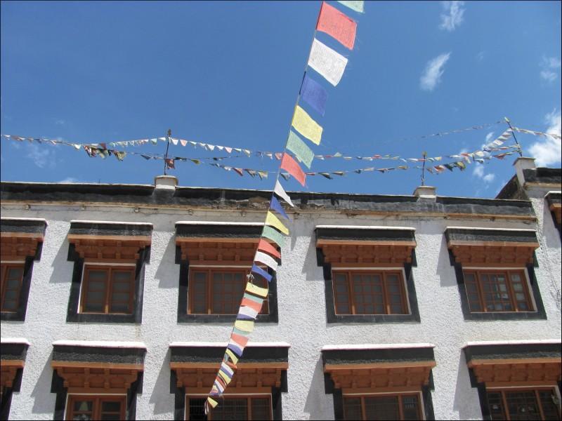 Chokhang Vihara at Leh, Ladakh, India