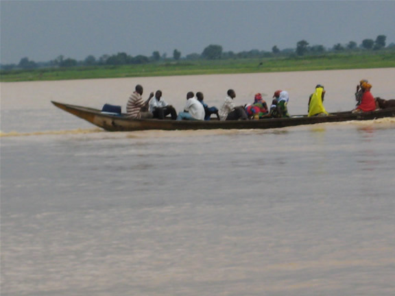 Across River Niger in Yauri