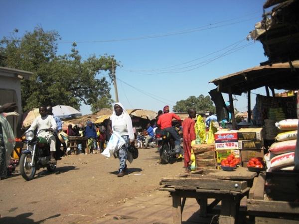 Market in Yelwa Yauri