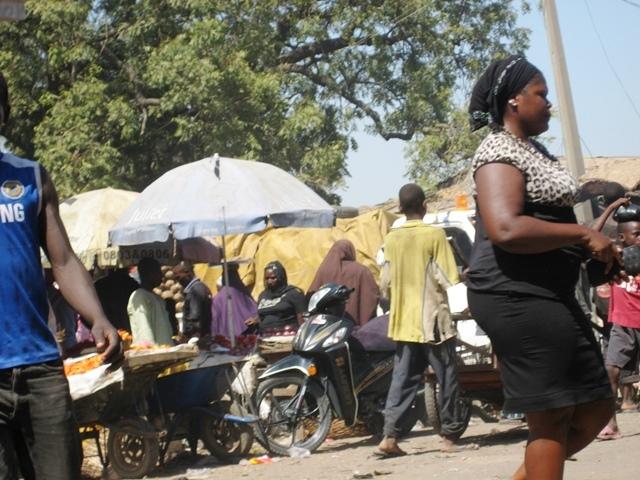 A Scene in Yauri Market