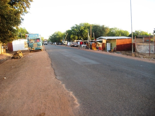 Arriving Dosso Niger Republic