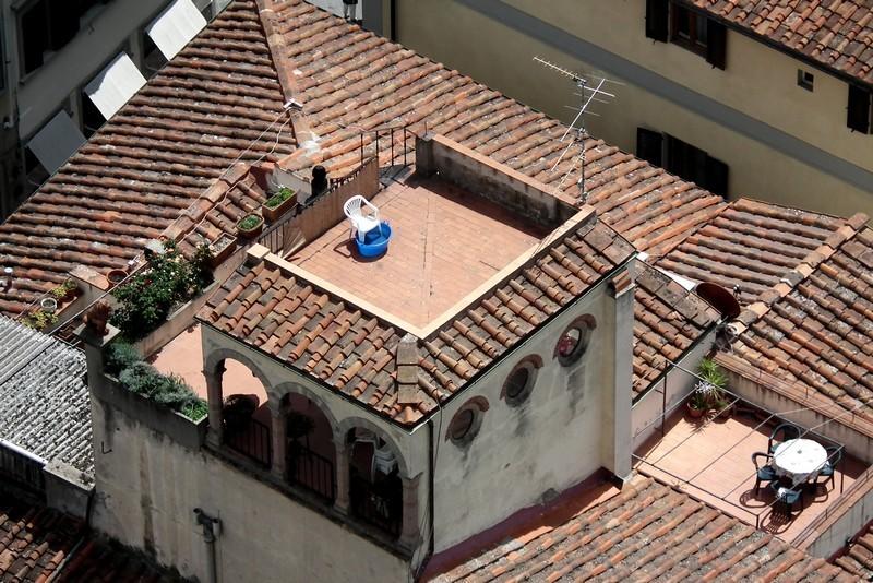 Toits de Florence