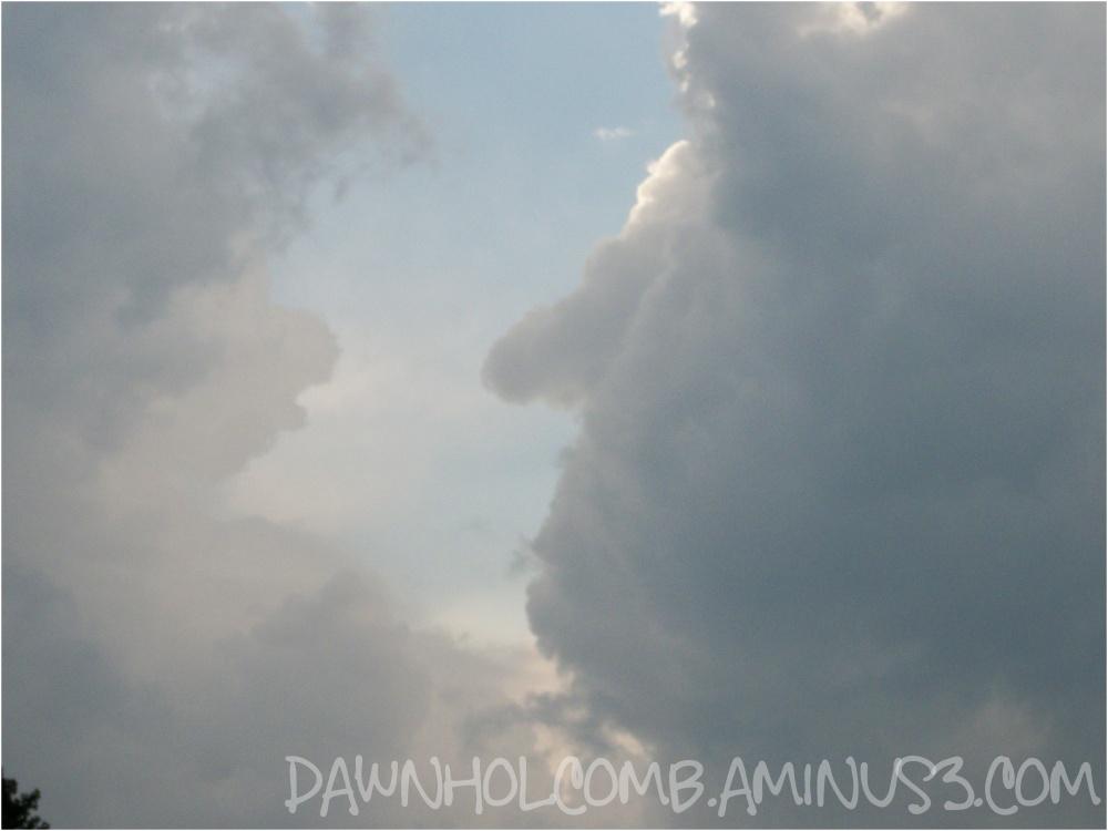 Cloud face