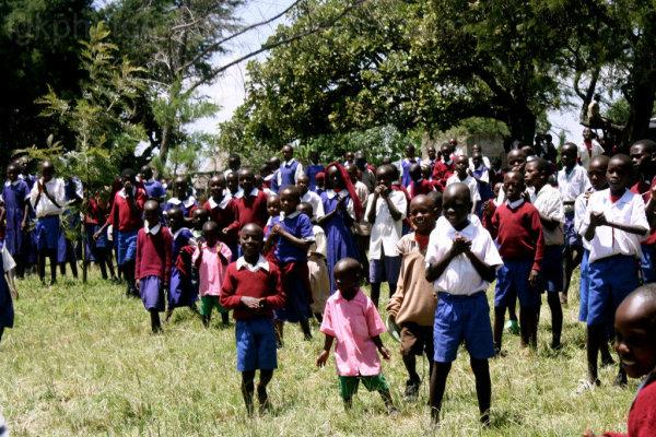 School children in Africa-March 2011