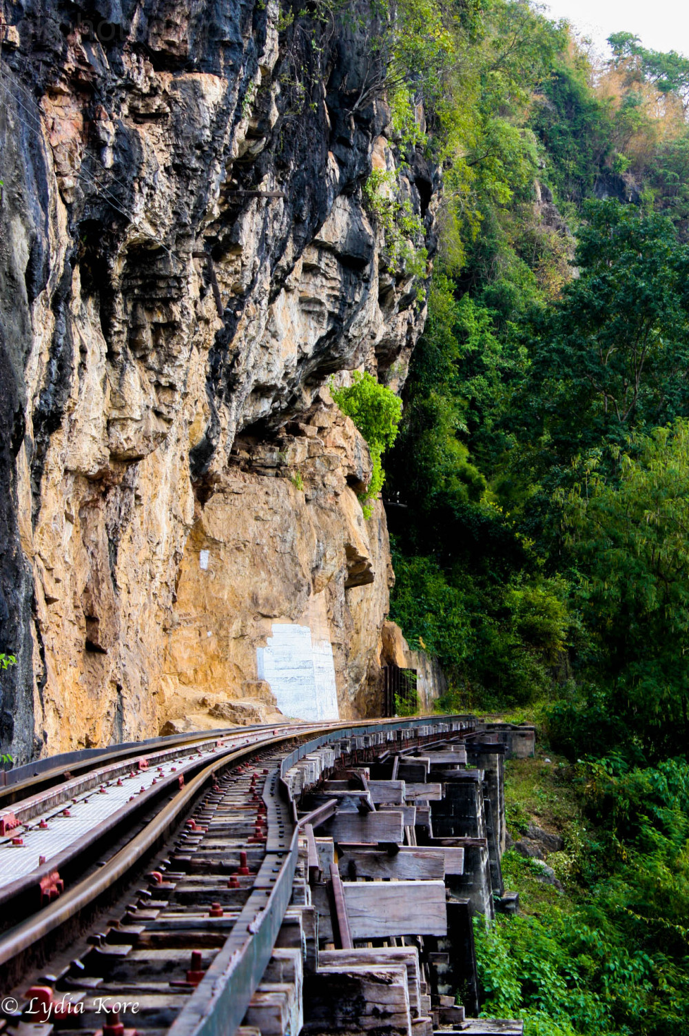 Thailand:  Railroad/Bridge
