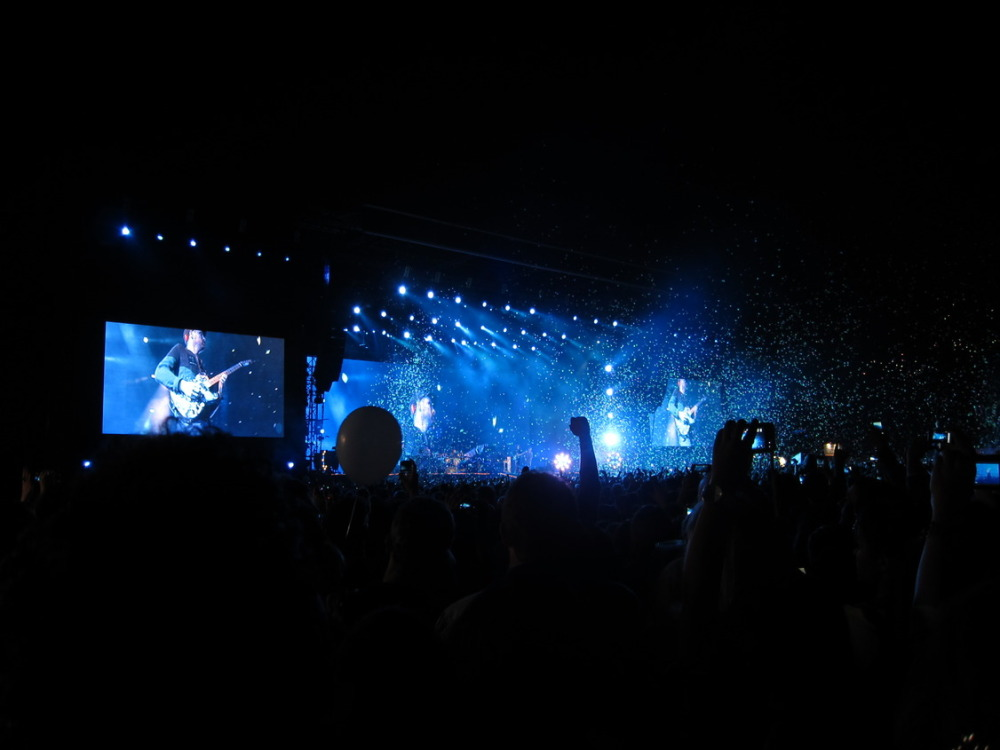 Coldplay concert, Abu Dhabi