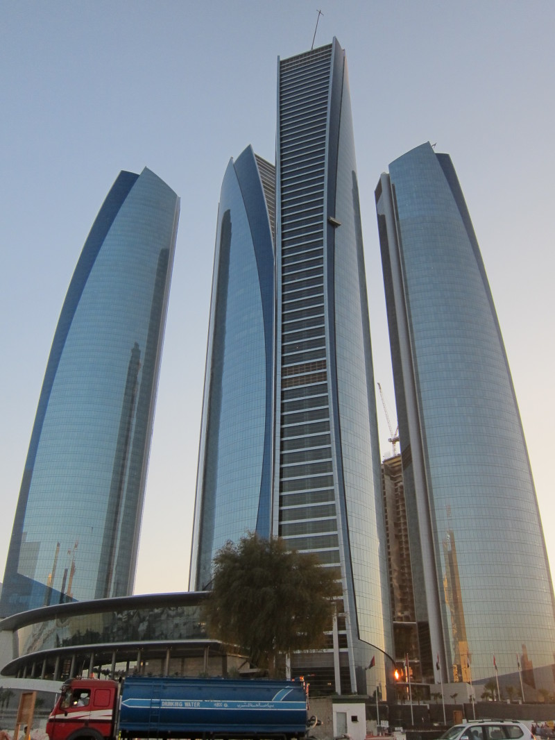 Etihad Towers Abu Dhabi Architecture Photos Memoirs Of A Tower Junkie