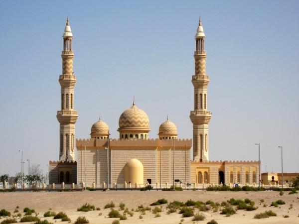 Mosque in Al Shamkha, Abu Dhabi