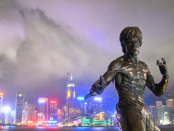 Bruce Lee statue, Avenue of Stars, Hong Kong