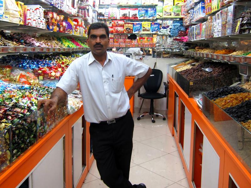 Bur Dubai shopkeeper, Dubai