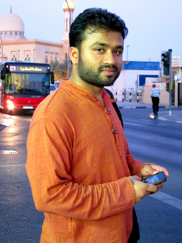 Phone user, Satwa, Dubai