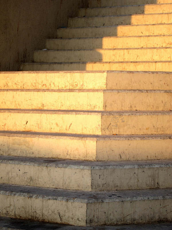 Creekside steps, Deira, Dubai