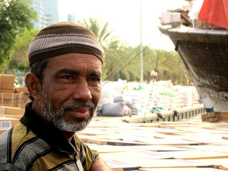 Sailor in Deira, Dubai