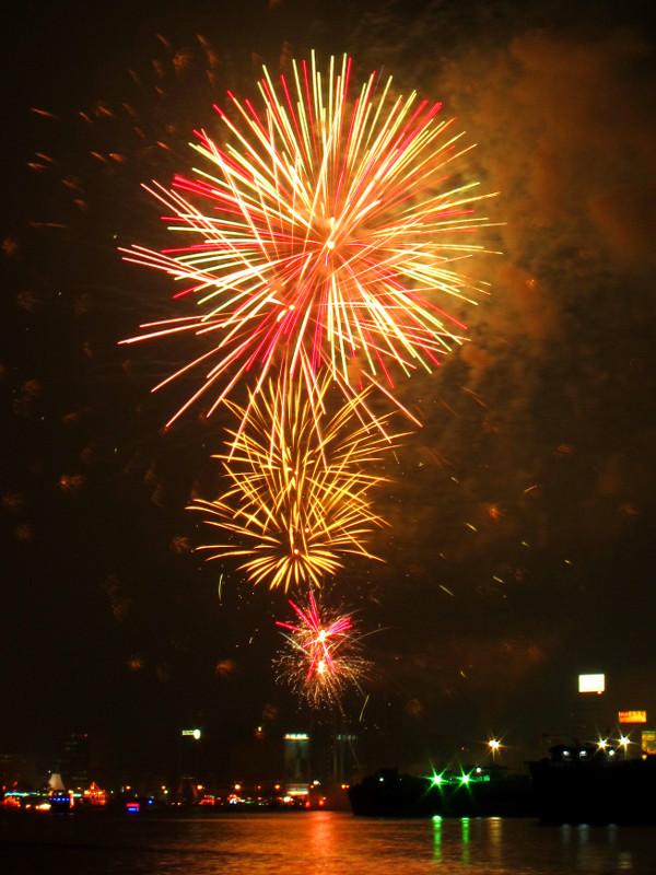 Fireworks, Dubai