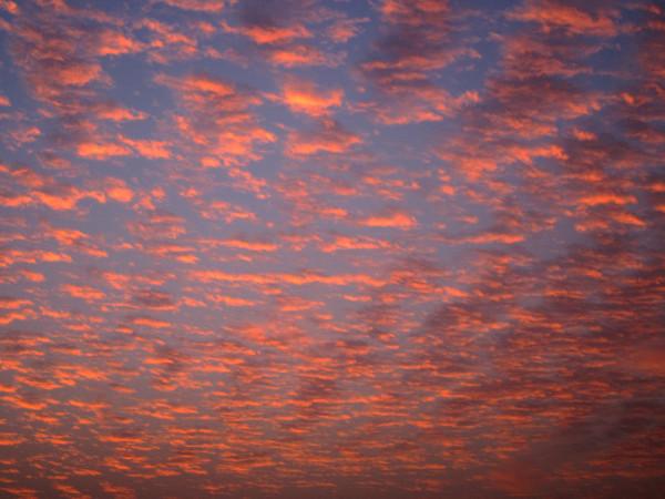 Sunset, Sharjah