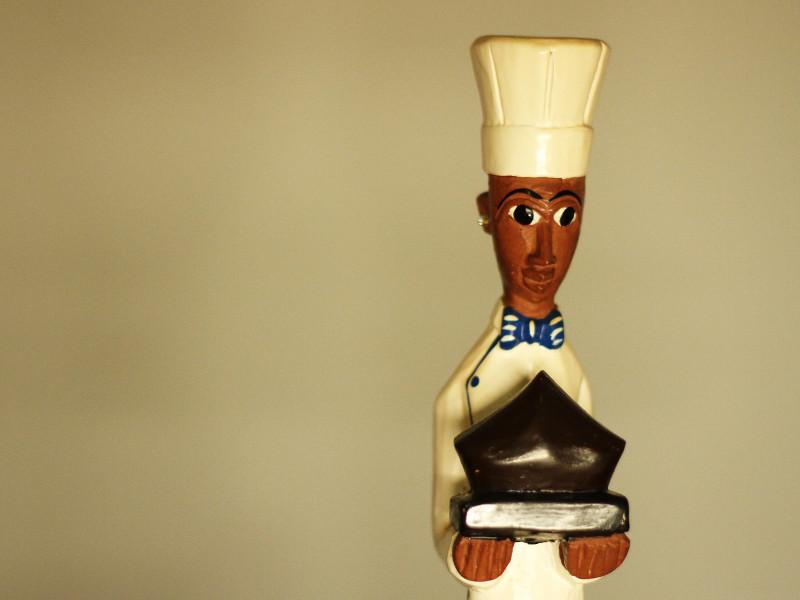 Chef figurine, Dubai