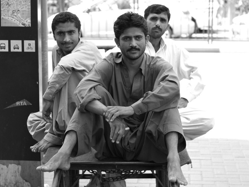 Cart pullers, Deira, Dubai