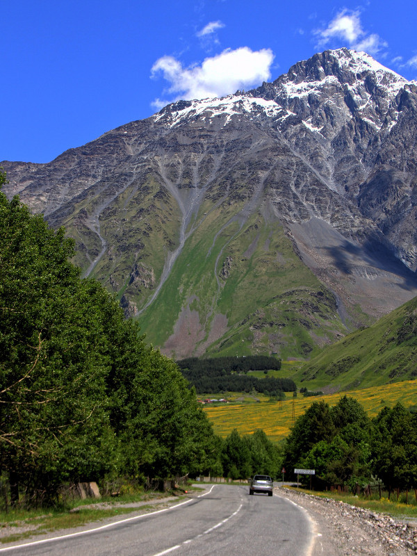 Mount Kazbek, Georgia