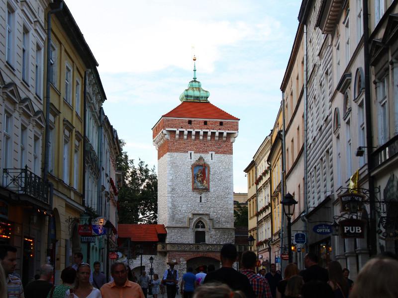 St. Florian's Gate, Krakow, Poland