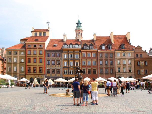 Old Town Market Place, Warsaw, Poland