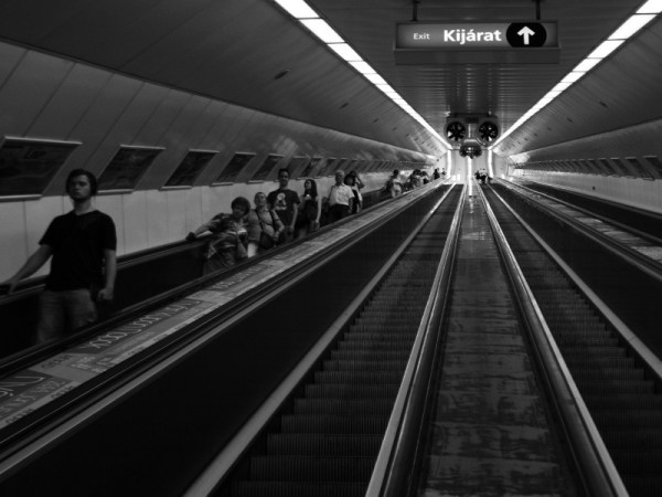 Metro, Budapest, Hungary