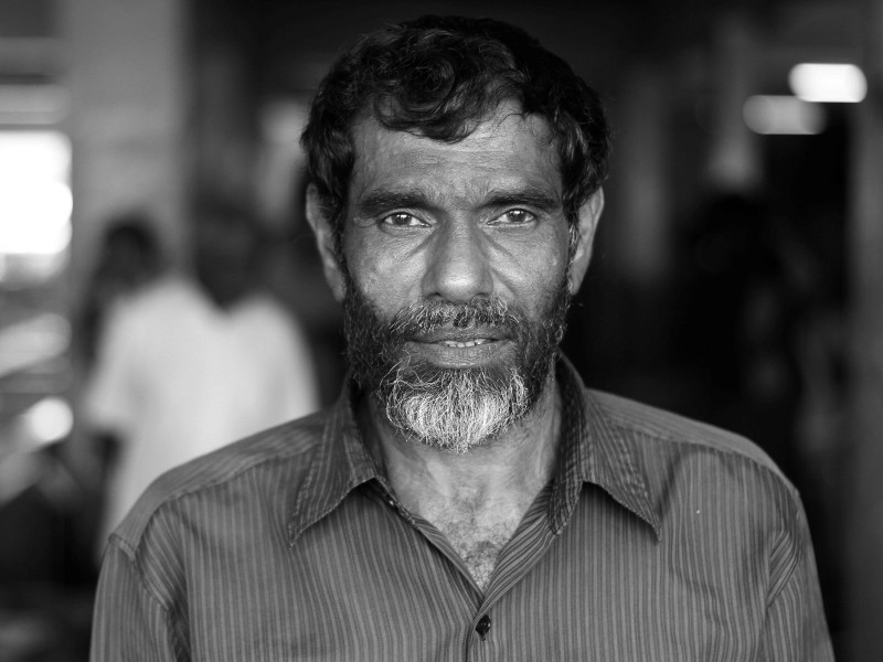 Fishmonger, Male, Maldives