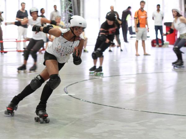 Roller derby participant, Abu Dhabi