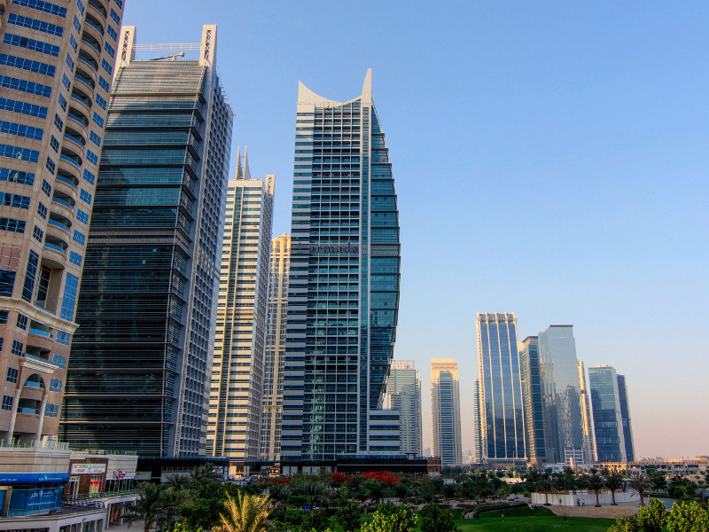 Jumeirah Lakes Towers, Dubai